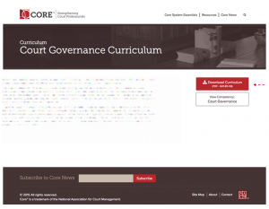 Court Covernance Curriculum